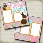 EASTER CANDY 2 Premade Scrapbook Pages EZ Layout 2139
