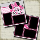 This Magic Moment Pink 2 Premade Scrapbook Pages EZ Layout 2234
