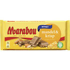 Marabou Almond & Crisp Chocolate Bar 185 g ( 6.50 oz ) Made in Sweden*