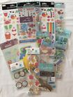 GREAT Lot Of NEW Assorted Beach Summer Theme Vacation Stickers Embellishments