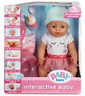 BABY born Interactive Baby Doll -  Blue Eyes