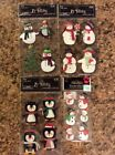 Lot Christmas Holiday Scrapbooking Stickers Lot Jolees La Petites Snowman