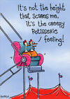 Rotisserie Chicken Funny Birthday Card Greeting Card by Oatmeal Studios