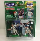 Starting Lineup 1998 John Elway Dan Marino Classic Double Broncos Dolphins