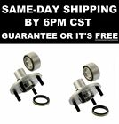 2 FRONT Hub Bearings 518507 CHEVROLET CHEVY GEO PRIZM TOYOTA COROLLA NON ABS