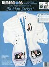 Dimensions Fashion Jacket Cozy Cats By Stephanie Stouffer Iron-on Transfers