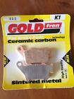 KTM EXC 380 EXC380 1999-2003 GOLD FREN REAR BRAKE PADS
