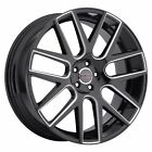 4 New 22 Wheels Rims for Mercedes CL55 CL65 SLC43 AMG SLC Class 300 38512