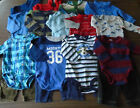 USED 22 PC LOT OF BABY BOY CLOTHES 3 6 MONTHS EUC VGUC