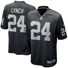 Authentic Nike NFL Game Edition Oakland Raiders Marshawn Lynch 24 Jersey NWT