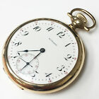 E Howard 14k Solid Gold Wind Up Vintage Pocket Watch 16s 17Jewels Circa 1903