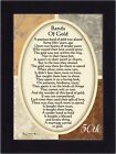 NEW Bands of Gold 50th Wedding Anniversary Gift Picture Frame 7x9 77979