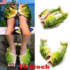 US Men Women Cute Creative Slippers Fish Slippers Beach Sandals Casual Shoes