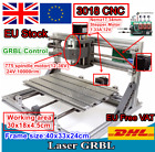 【UK&EU】 New Mini DIY Desktop 3018 CNC Router Kit Laser Milling Engraving Machine