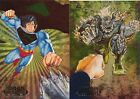 SKYBOX DC SPECTRA DOUBLE SIDED CARD #DS3 SUPERMAN & DOOMSDAY