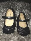 Toddler Girls Size 5 Cherokee Black Sparkle Shoes
