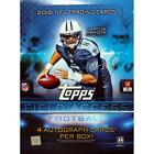 2015 Topps Field Access Football 4-Pack Hobby Box