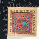 All Night Media Rubber Stamp Sun Spirit Celestial Dream Music Laurel Burch T245