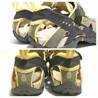 Womens Teva water sport sandals SN 6944 gray yellow size 6