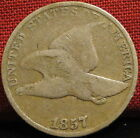 1857 Flying Eagle Cent 2