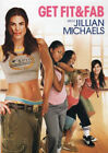 JILLIAN MICHAELS GET FIT AND FAB KIDS EXERCISE DVD NEW SEALED WORKOUT CHILDRENS