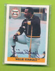 Front Row 5 Card Set With Certified Autograph Willie Stargell Pirates (d. 2001)
