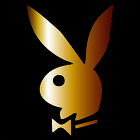 PLAYBOY Bunny Decal Sticker Choose Color  Size Hugh Hefner