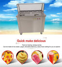 with temperature control fried ice cream machine,50*50cm pan fried ice maker