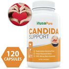 NusaPure Candida Cleanse NON GMO 120 CAPS Yeast Infection Treatment