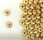 Gold Filled 7mm Rondelle Spacer Beads for Beading Designs  Jewelry Projects