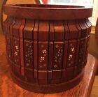 Vintage Redwood Planter Hand Crafted In New Hampshire Artisanal Woodwork