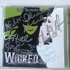 Extremely rare - Wicked Broadway CD - signed by original cast & composer