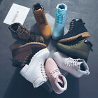 NEW Work Boots Womens Winter Leather Boot Lace up Outdoor Waterproof Snow Boot