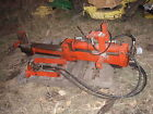 Economy Tractor Power King wood splitter Nice old collectable piece or use it