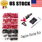 Compete Bodywork Fairing Fasteners Bolts Screws Bolt For Yamaha YZF FZR R6S FJR