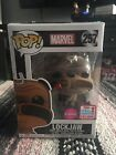 Funko Pop! NYCC 2017 Fall Convention Exclusive Marvel Inhumans Flocked Lockjaw