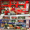 New Holiday Express Christmas Tree Train Set lights/Motion Carriage Station Gift