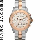 "Marc by Marc Jacobs MBM3178 Ladies ""Blade"" Silver Dial Two-Tone Quartz Watch NEW"