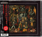THRONE OF CHAOS / MENACE AND PRAYER JAPAN CD OOP W/OBI +2B/T