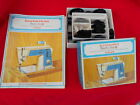 Vtg 1968 Singer Touch and Sew Model 638 Special Zig Zag Accessories w/ Manual