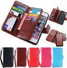 Pouch Flip Leather Magnetic Card Slot Wallet Case Cover f iPhone 8 7 6 6s Plus X