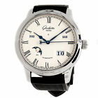Glashutte Original Senator Calendar 100-02-22-12-04 Auto Steel Mens Strap Watch