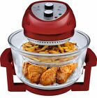 Big Boss Oil-less Air Fryer 16 Quart 1300 Watt Red Electric Low Fat Healthy Cook
