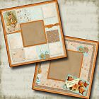 THANKFUL Premade Scrapbook Pages EZ Layout 368