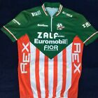 used vintage Italian mens cycling jersey ZALF mobili MEDIUM