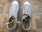 CONVERSE All STAR Grey Canvas Sneakers Shoes UNISEX Mens 11 Women 13