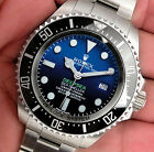 Rolex Sea Dweller DEEPSEA 116660 Mens Steel James Cameron Faded Blue Dial 44MM