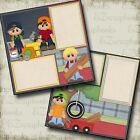BOYS BEING BOYS Premade Scrapbook Pages EZ Layout 424