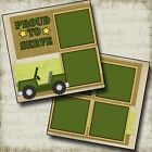 ARMY Premade Scrapbook Pages EZ Layout 572