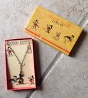 Mickey Mouse Necklace circa 1930s Mint in Box